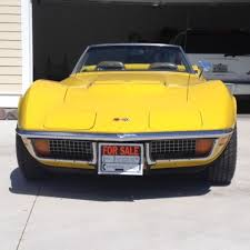 1972 corvette convertible 454 for sale 1972 corvette convertible 454 4 speed unrestored 41k mi for sale