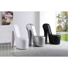 best master furniture high heel leather shoe lounge chair ebay