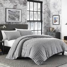 preston flannel duvet cover set