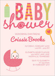 baby shower for a girl discount baby shower invitations 5 best printing online