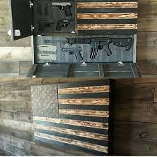 Make Your Own Gun Cabinet Represent America With A Nice Gun Cabinet And A Work Of Art