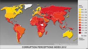 Corruption Map Report Corruption Remains Widespread Global Problem