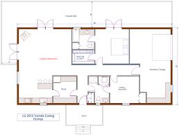 Small Log Home Floor Plans Enjoyable Design Ideas 6 30x60 House Floor Plans Barndominium
