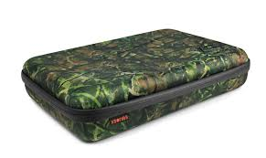 Camo Dog Bed Capxule Large Soft Case With Pre Cut Foam Inlay Xsories
