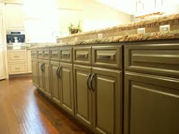 Distressed Kitchen Cabinets Pictures by Olive Green Distressed Kitchen Cabinets Quicuacom Exitallergy