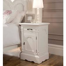 Small White Bedside Table Side View Of Small White Bedside Table Interesting Black Wooden