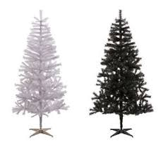 home lapland indoor artificial 6ft tree white black