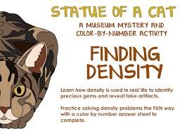 help students understand that calculating density is done in real