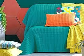 plaid turquoise pour canapé plaid turquoise pour canape trouvez le meilleur plaid pour canapac
