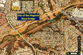 San Diego City Council District Map by City Council Rejects Regents Road Bridge Proposal And Widening Of