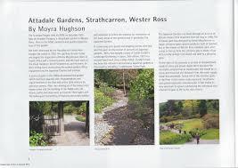 Sunken Gardens Family Membership In The Press U2014 Attadale Gardens Wester Ross