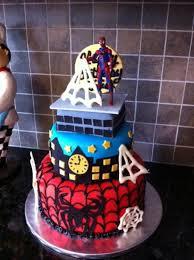 spiderman cake u0026 cupcakes cakecentral com