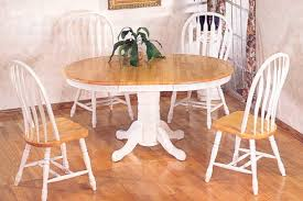 Modern Kitchen Table Sets by Dining Room Elegant White Round Pedestal Kitchen Table Idea Set
