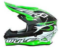 wulf motocross boots helmets