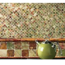 green backsplash kitchen kitchen backsplash tile patterns mosaic tile ideas kitchen on