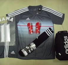 desain kaos futsal jepang setelan kaos futsal bola adidas motif japan abu rumah jersey