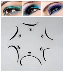 maquiagem cat eye makeup smokey eye stencils a la carte mugeek