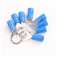 2x25pcs 2 8mm insulated electrical power wire ring eye connectors