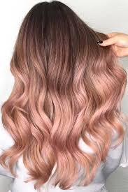 rose gold hair color trendy hair color rose gold hair color will definitely make you