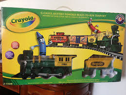 lionel crayola set g scale battery operated 7 11548 ebay