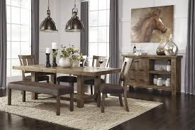 rectangle dining room table with leaf by signature design by