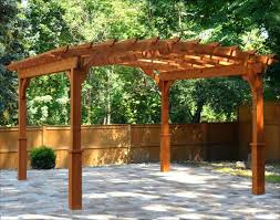 simple pergola construction build arbor plans free 30255 interior