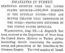 Ottoman Empire Laws Treatment Of Jews In The 19th Century Ottoman Caliphate