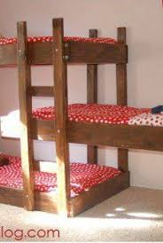 Building Plans For Bunk Beds With Stairs Free Bunk Bed Plans by Triple Bunk Bed Build Dream House Pinterest Triple Bunk Beds