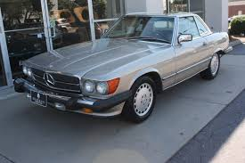 mercedes auctions 1989 mercedes 560sl for sale on bat auctions closed on