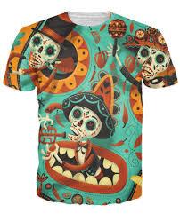 dia de los muertos pictures de los muertos t shirt
