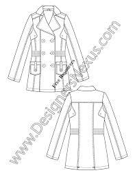 free downloads illustrator coat flat sketches