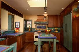 california spanish home remodel mediterranean kitchen orange
