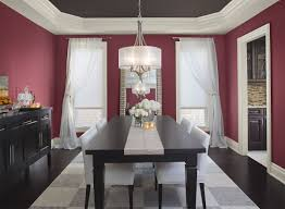 Dining Room Accent Wall by Maroon Dining Room 2015 Red Burgundy Accent Wall Brilliant