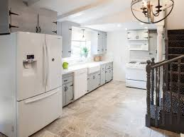 white kitchen cabinets with tile floor kitchen tile flooring options how to choose the best