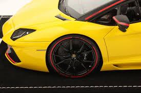 Lamborghini Aventador Nero Nemesis - lamborghini aventador lp 700 4 roadster pirelli edition 1 18 mr