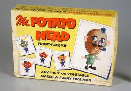 Amazon Potato Head Kit Costume Putting Good Face Evolution Potato Head
