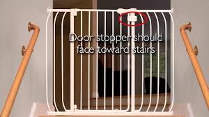 Summer Infant Banister Gate How To Install The Summer Infant Multi Use Walk Thru Gate Youtube