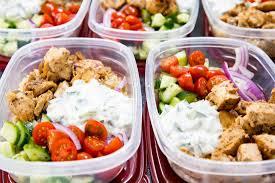 greek chicken bowls meal prep easy eazy peazy mealz