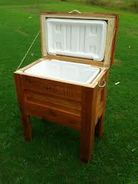 Building Outdoor Wooden Furniture by Diy Outdoor Projects Outdoor Wooden Cooler Do It Yourself Home