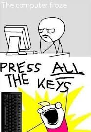 All The Meme - press all the keys all the things know your meme