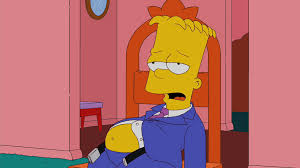 the simpsons on post thanksgiving bloat it never ends