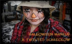 fail halloween makeup tutorial a twisted scarecrow youtube