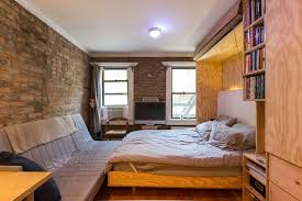 New York City Bedroom Furniture by 9 New York City Micro Apartments That Bolster The Tiny Living