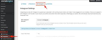 email instagram support socialengine instagram integration