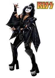 halloween costume discount kiss costumes kiss band halloween costume paul gene simmons boots