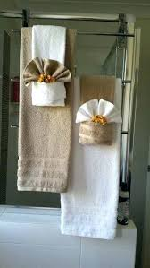 bathroom towel decorating ideas bathroom towel decor ideas my towel decor beautiful do 2 of these