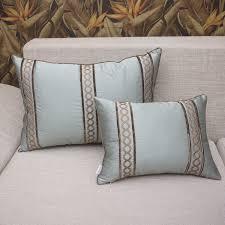 sofa design embroidered decorative sofa pillows covers decorative