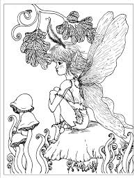 fairy coloring pages 6 fantasy pages for coloring 16281