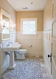 Install Beadboard Wainscoting Installing Beadboard Wainscoting Powder Room Beach Style With