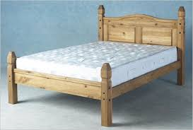 Solid Pine Bed Frame Mexican Pine Princess Bed Solid Pine Bed Frame Wax Finish